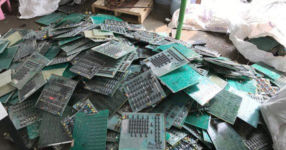 E waste shredder